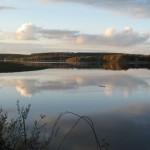 Lac de Saint Agnan, séjour VTT dans le Morvan