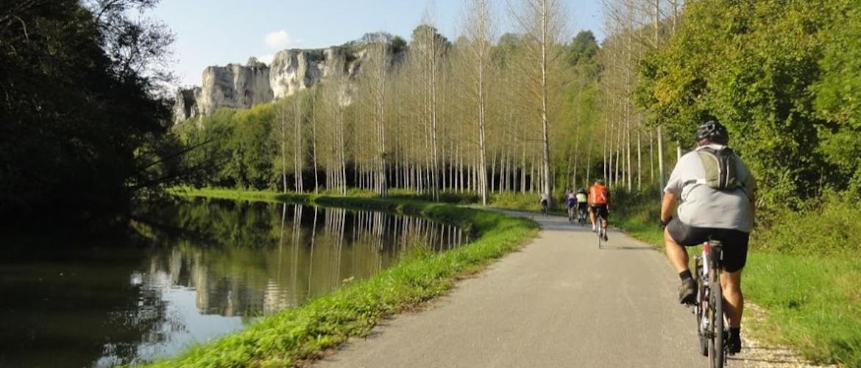 """Canal du Nivernais de """"Loyre en Seyne"""" à vélo"""