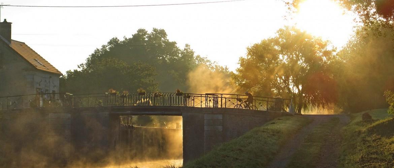 Canal de Bourgogne : week-end détente à vélo