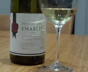 Chablis premier cru, vin de Bourgogne