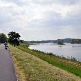 La Loire, le long du canal latéral à vélo