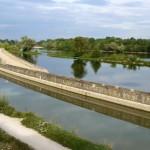 A vélo le long du canal, Loiret