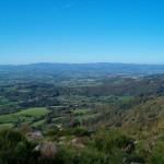 Paysage du Morvan, depuis le sentier de la GTM