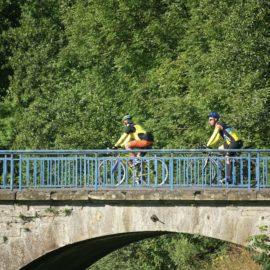 Traversée de la Saône, balade comtoise à vélo