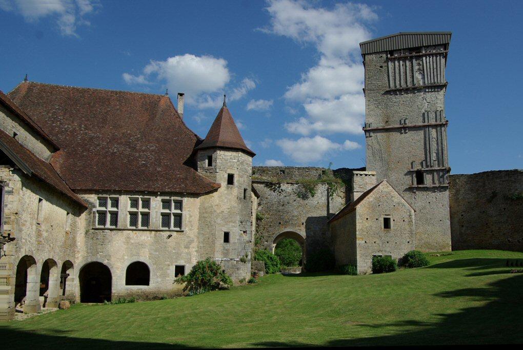 Chateau d'Oricourt, Haute-Saône