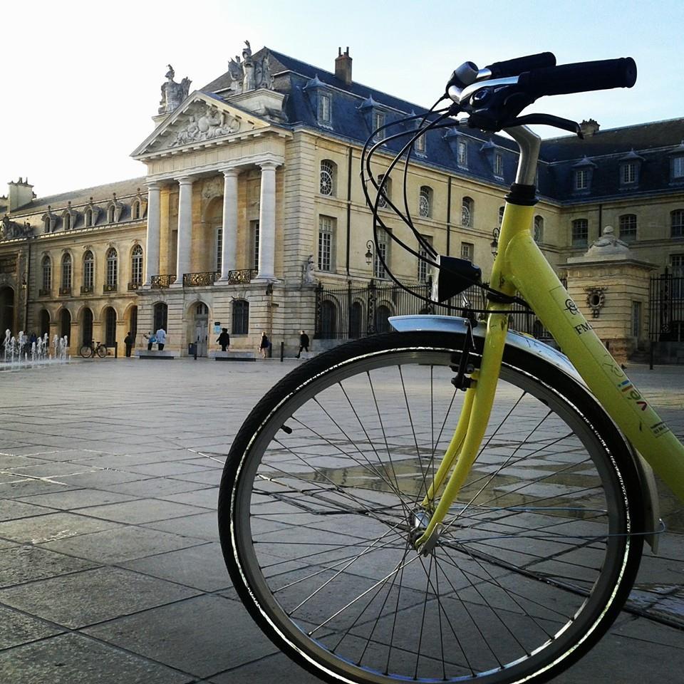 Dijon, le canal de Bourgogne