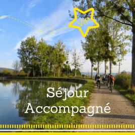 Séjour accompagné à vélo : le canal de Bourgogne du 24 avril au 28 avril 2017