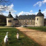 Château de Bussy-Rabutin en Bourgogne