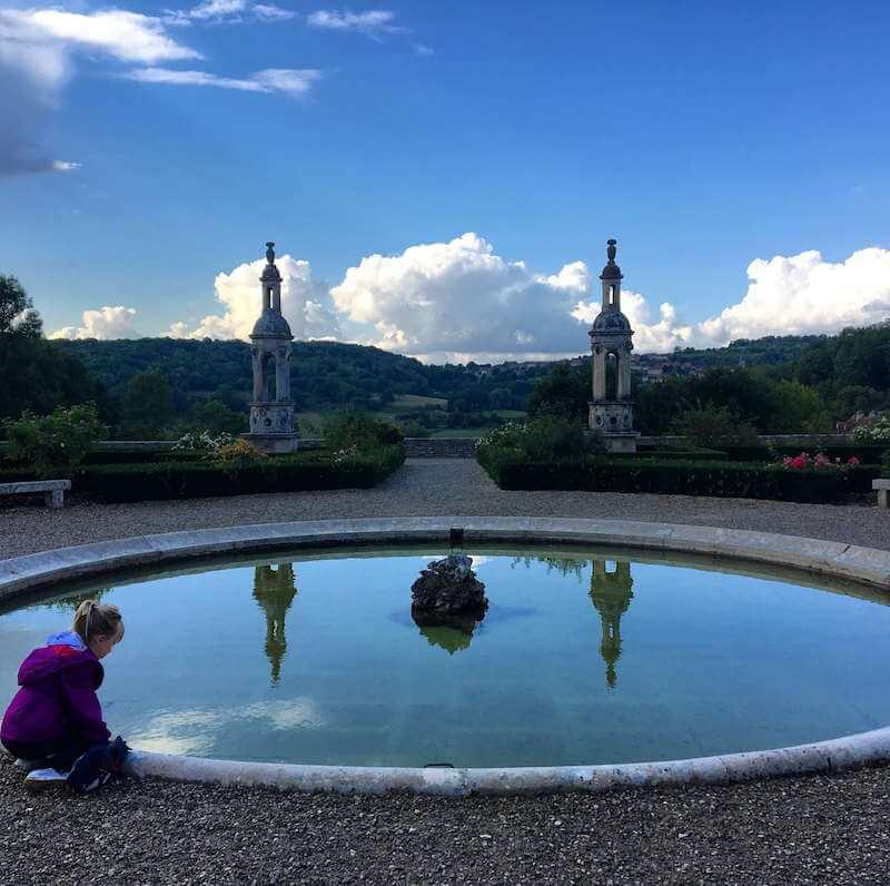 Le parc du château de Bussy-Rabutin