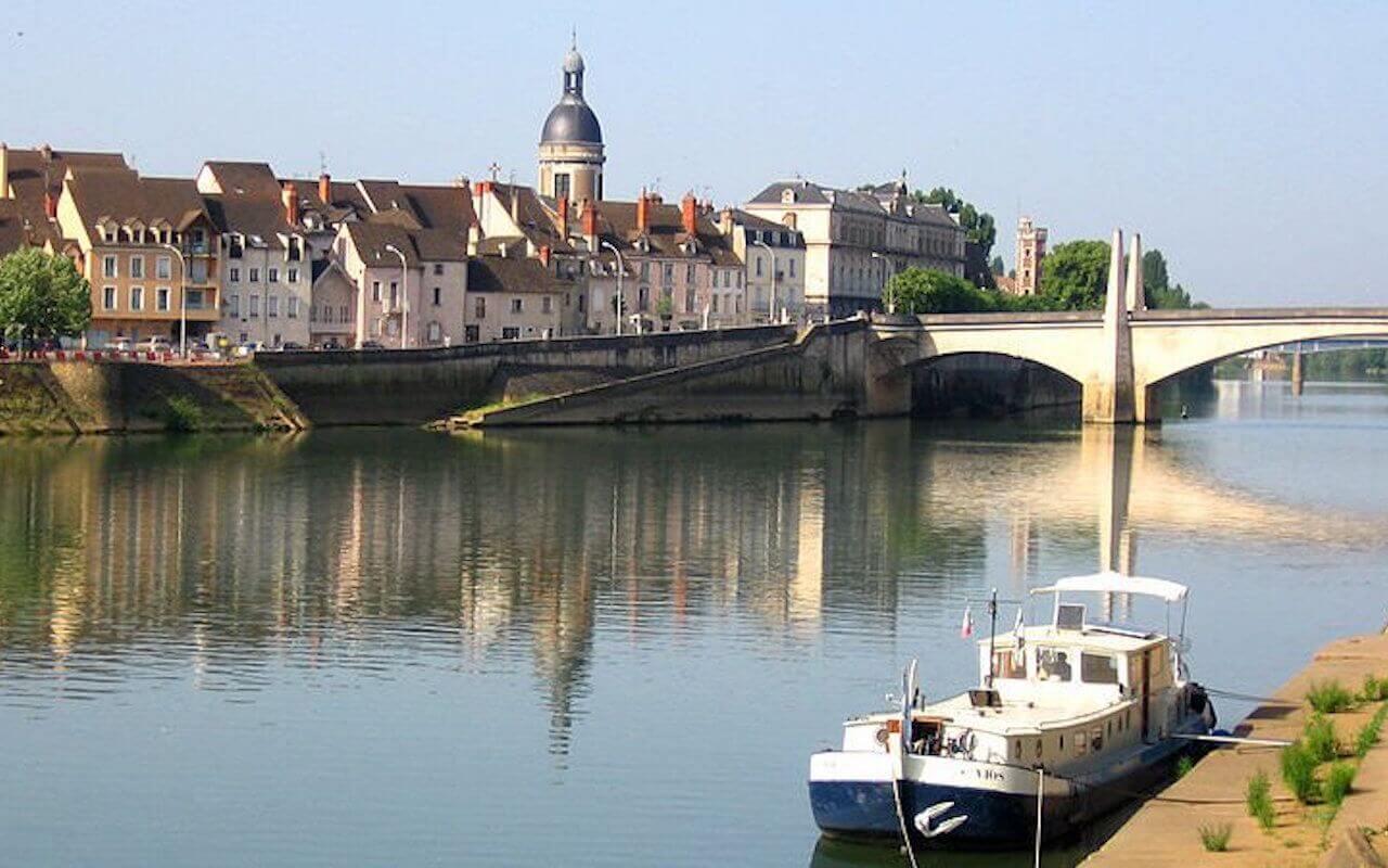 Chalon sur Saône, en Bourgogne